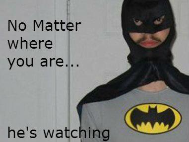 Batman. .. el hombre murciélago