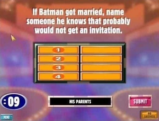 Batman. . II Human not married. name he knows that would not ttwtt an ,,. Bruce Wayne