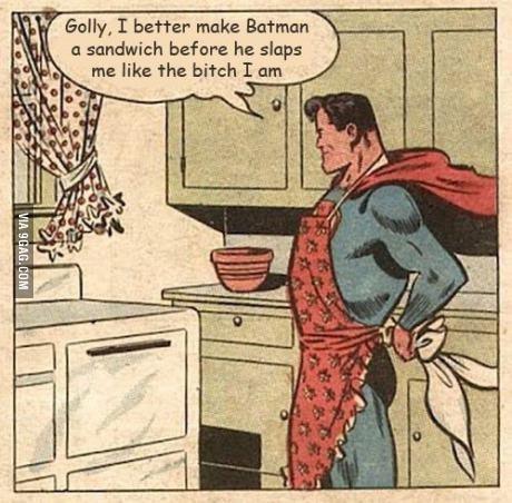 Batmans Bitch. . nah. inb4 badass alfred comic