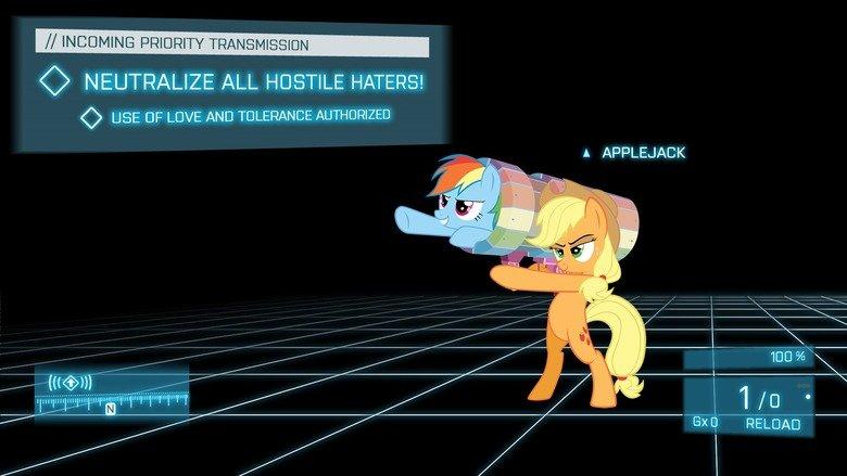 My Little Pony Meets Battlefield 3 - YouTube