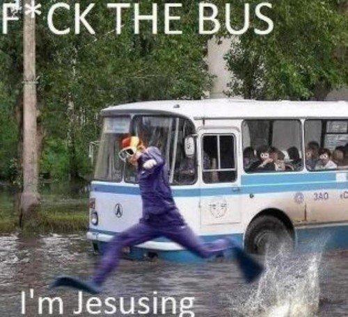 Be Jesus. .