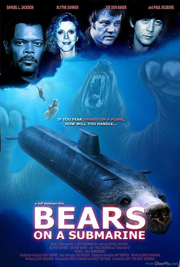Bears Submarine Bears on a Submarine Imghumour