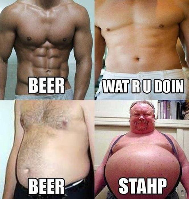 Beer. Wat r u doin.. yeah sure beer... STAHP