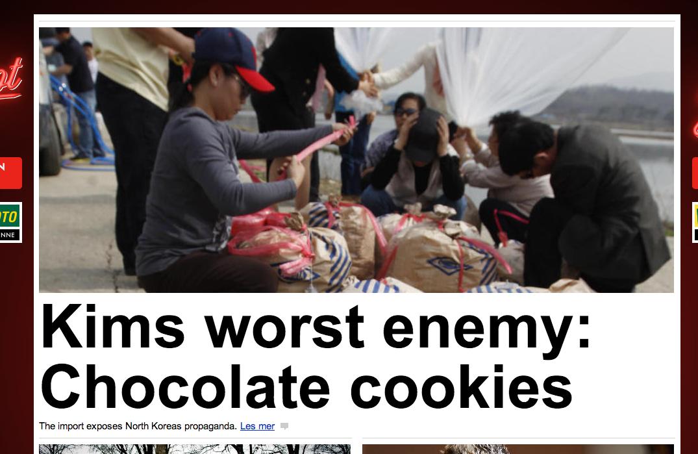 Best Korea. A translated news article from a Norwegian website. shate. -r The impart -: p: -c: -5% rarara, Kiowas has mar. Fake He only eats cake