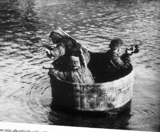 "Best ""light armored"" transport ever. .. rub a dub dub three men in a tub SS viking river Big bucket"