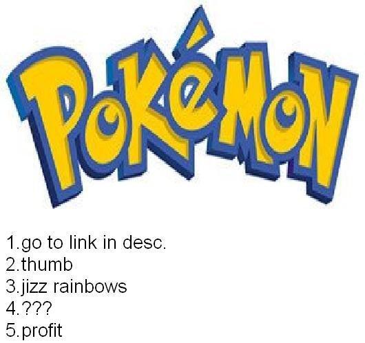 Best pokemon website ever. . 1. 93 to link in desc. 2. thumb 3. rainbows 5. profit. meet tentarape