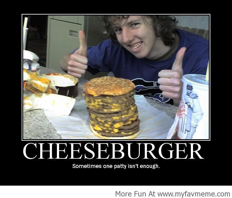 Своими руками сделать чизбургер