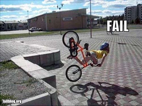 Bike Tricks Fail Bike Jump Fail lol