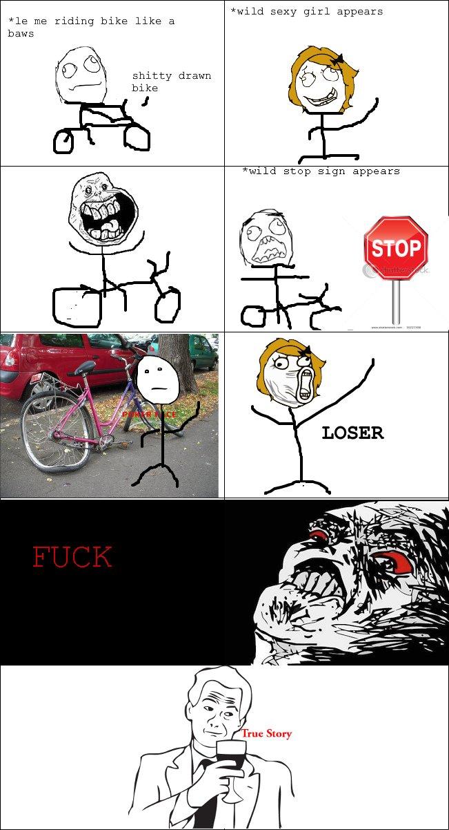 bike accident. happened yesterday.