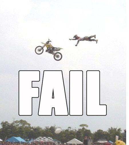 Bike fail. owwch.
