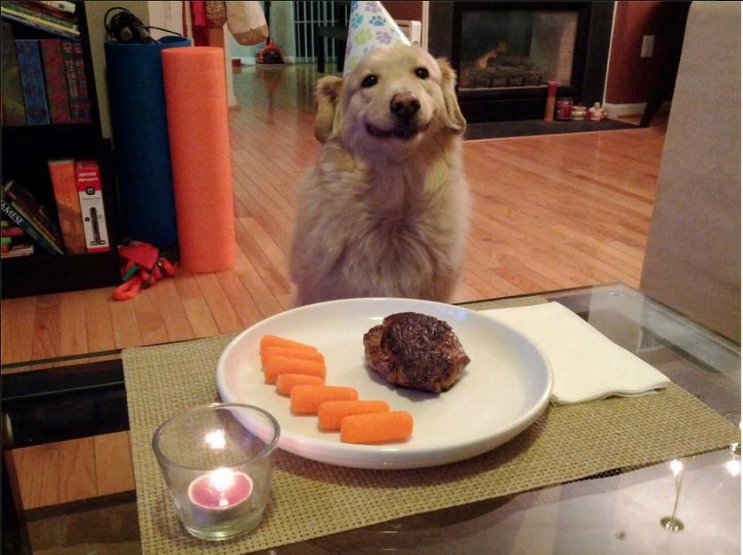 Birthday Dinner. .