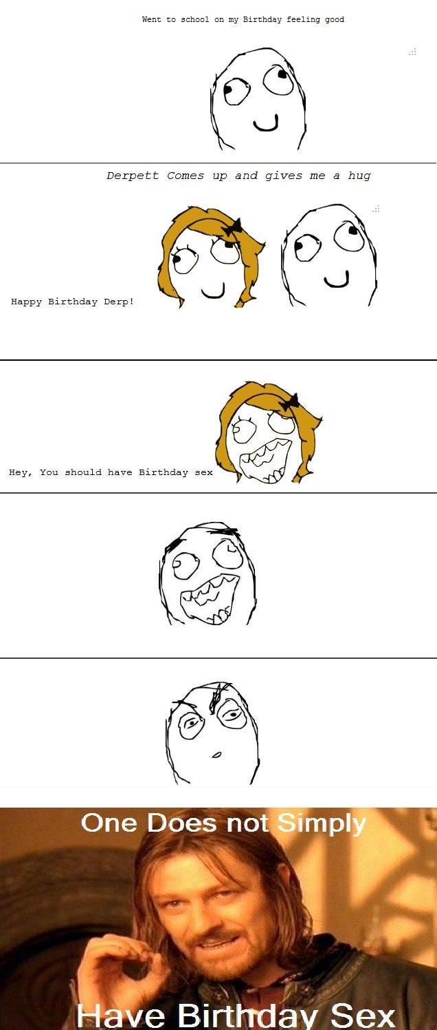 Birthday sex?. 100% real OC.