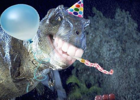 BirthdayFuckingSaurus. .. guys, guys. suck my Gangrenous cock