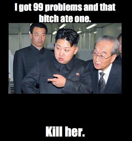 Bitch prease. North Korea is best Korea, America will fall. All hail Admin. north kore is best korea