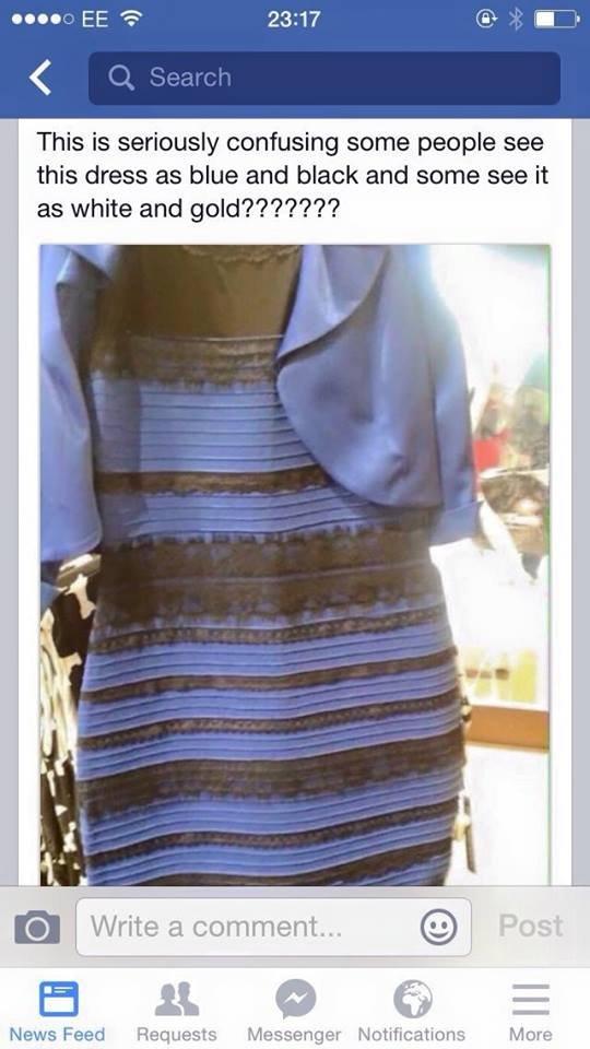 Одни видят это платье на