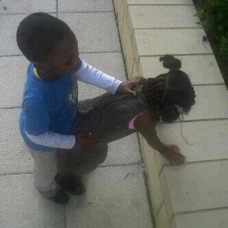 Black kids these days. .