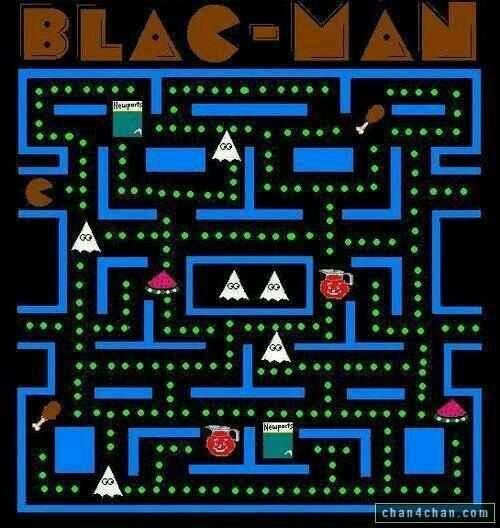 Black Man. . etten. Imagine the noise he made