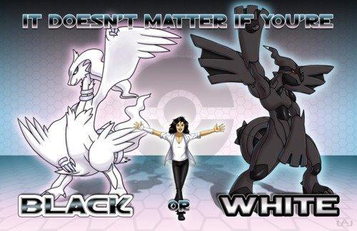 Black or White. .
