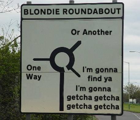 Blondie. .