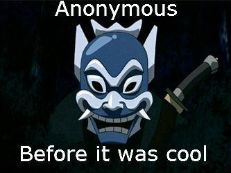 Blue Spirit!. I don't want a description. Anonymous Before it was cool