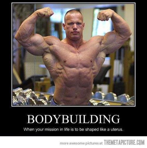 Body builders. .