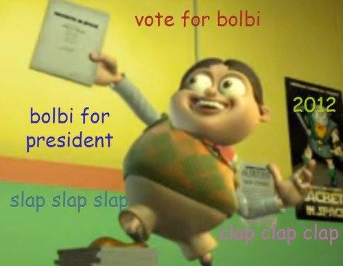 BOLBI 2012. slap slap slap clap clap clap. balm for president