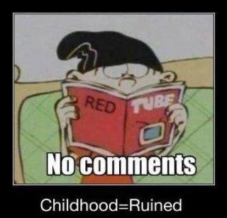Boom..... No more childhood.. boom
