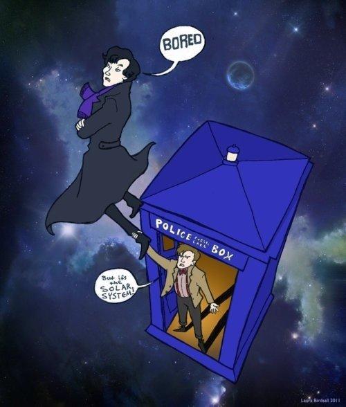 BORING. If the Doctor and Sherlock met.