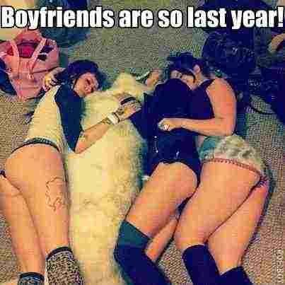 Boyfriends are so last year.. .. It looks like a yeti