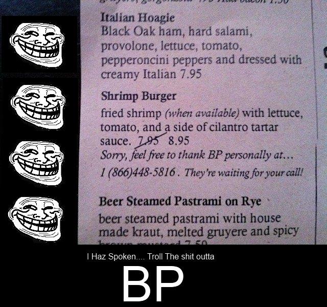BP Trollin!. Wow thx so far guys... Now THUMBBBB PARTY!!!!<br /> Lets DO IT!!!. Minn Home Black flak ham, hard Miami, i' provolone, lettuce, tomato, i, l  kill THEM Mother fuckers