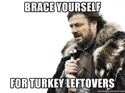 Brace yourself. .
