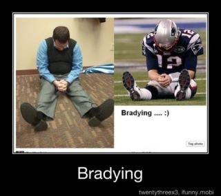 Bradying. .
