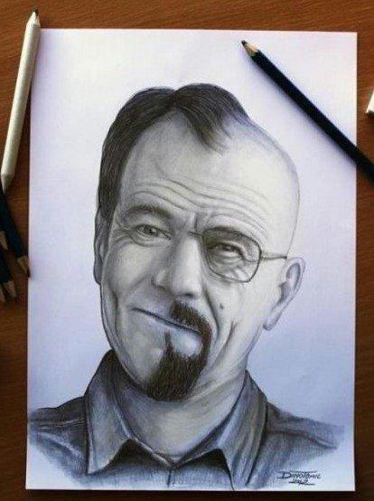 Breaking Bad Drawing!. .