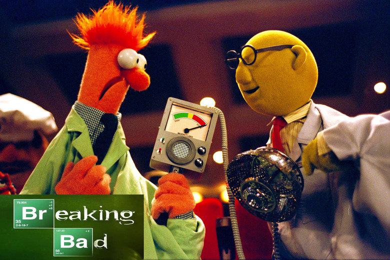 "breaking bunsen. OC.. wouldn't ""beaking bad"" be better?"