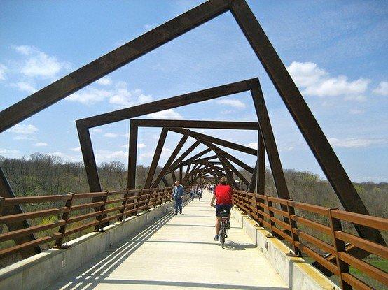 bridge in iowa. .. What I thought