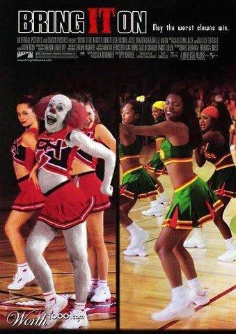 Bring IT On. . clowns horror it stephen king Bring it on cheerleading