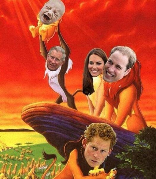 British Royal drama.. A rather familiar story, isn't it?.