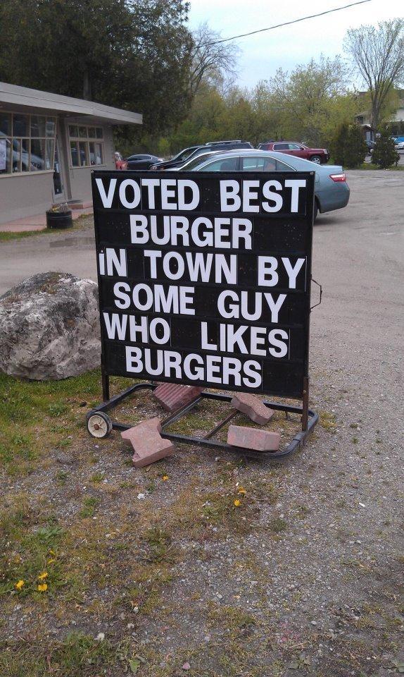 burgers. .. MFW