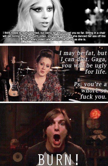 "BURN!. Adele is sexy im just saying tinyurl.com/7gfg4qo. oils, I "" d Entai, but heme fa Jill ? e: you so far. Sitll nu: In a chair will get boring :I' tea' yhe"