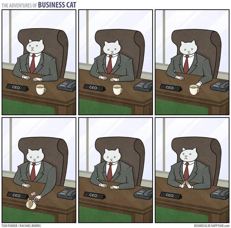 """Business Cat.. . THE .% , OF BUSINESS CAT Ml, FINDER I FEM: MEL . F"""" I' JAR. mrn"""