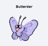 Buterder. suddenly the tongue, becomes a nose, HEUHUEU. Butte rd tit r