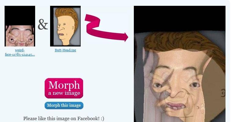 Butt-Head Weird morph. . butt head weird morph