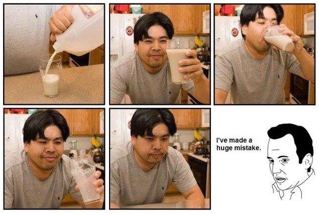 Buying choc milk from /b/. .