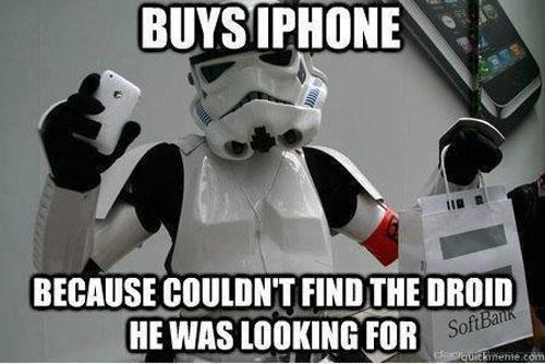 Buys Iphone. . tts Blails jimimi. i. mun HE was IV,. Like my new iPhone?
