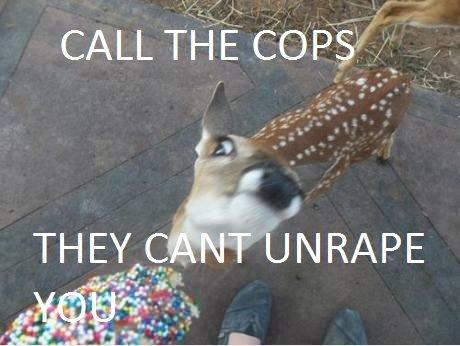 CALL THEM. . CALL TH E COPS?' /