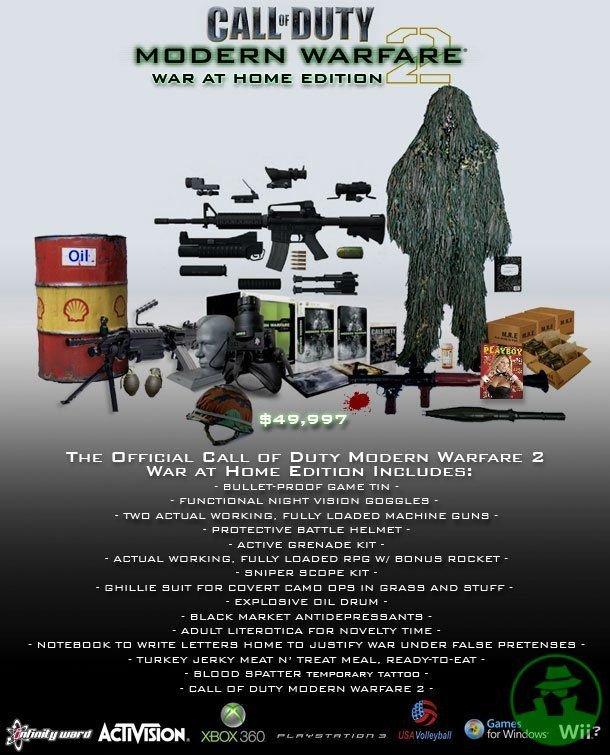 Call of Duty War at Home. Call of Duty War at Home. THE AOFFICIAL BALL cor DUTY WARFARE 2 WAR AT HUME INCLUDES: GAME Tatl - THU AI: _ ), FULL? I_ EIAO: IUEI MAC Call of Duty War