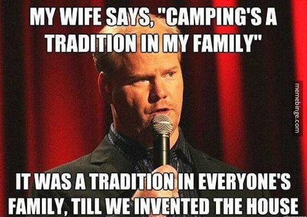 Camping. .