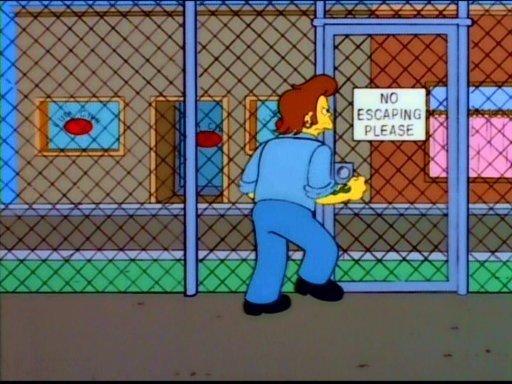 """Canadian Jail. .. Season 9, episode 9; """"Realty Bites"""""""
