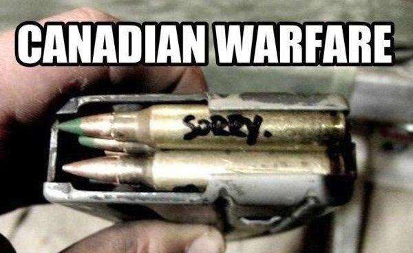 Canadian Warefare. .
