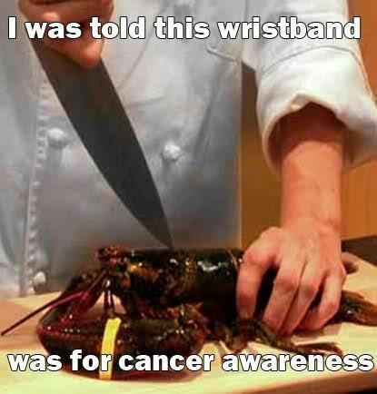 Cancer. Oh god...